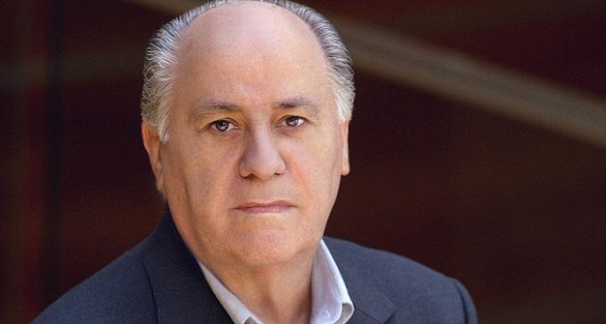 the notorious Zara owner, Amancio Ortega Gaona