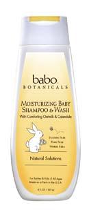 2. Babo Botanicals Oatmilk Calendula Moisturizing Shampoo